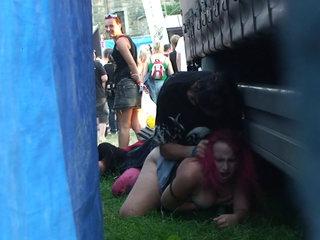 Public Sex During Concert