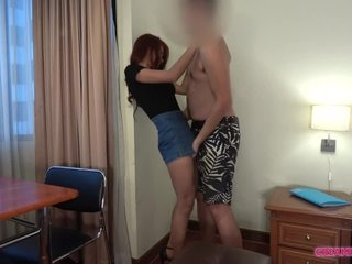 Ultra-cute chick in glasses gets creampied