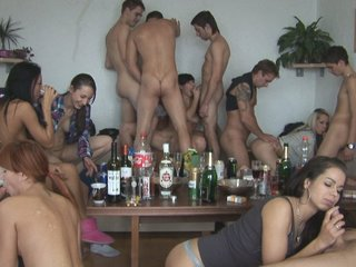 Drunk Amateur Girls Pounded at..